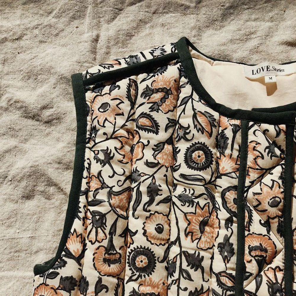 Aya Quilted Vest