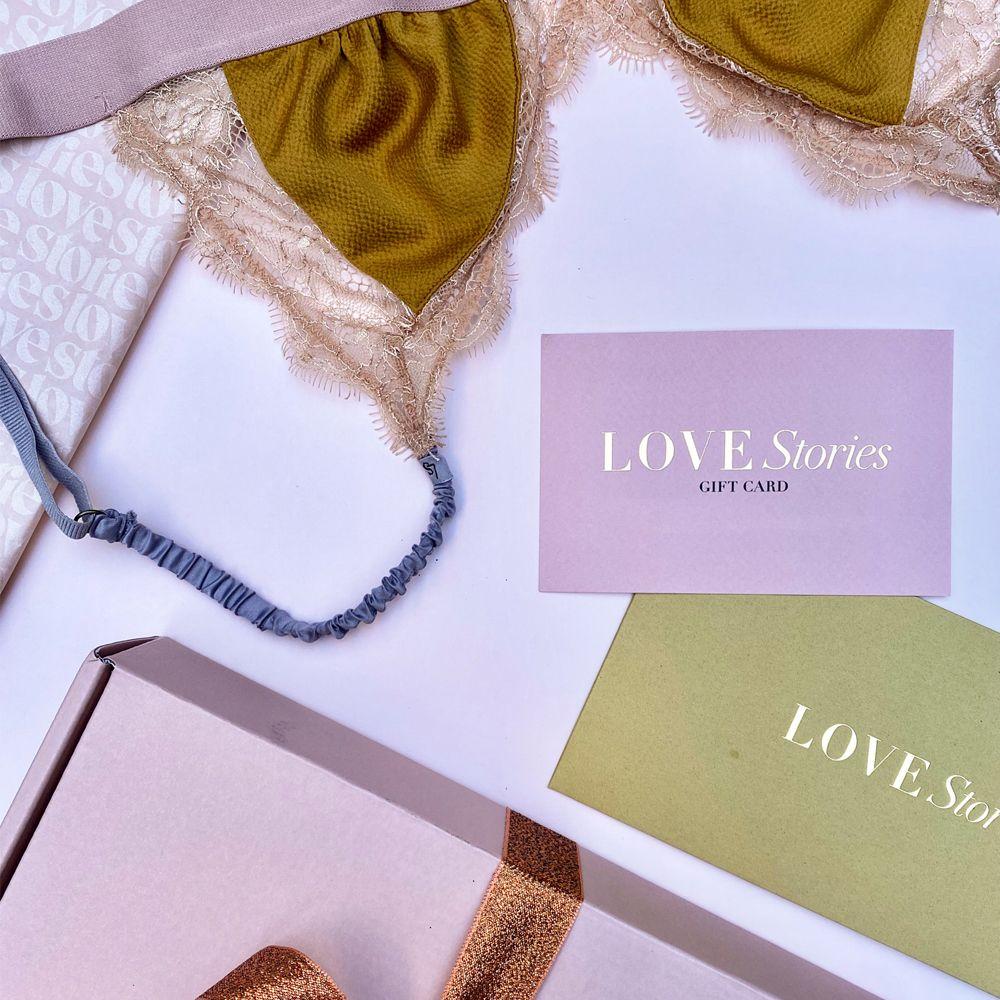 Love Stories Geschenkkarte