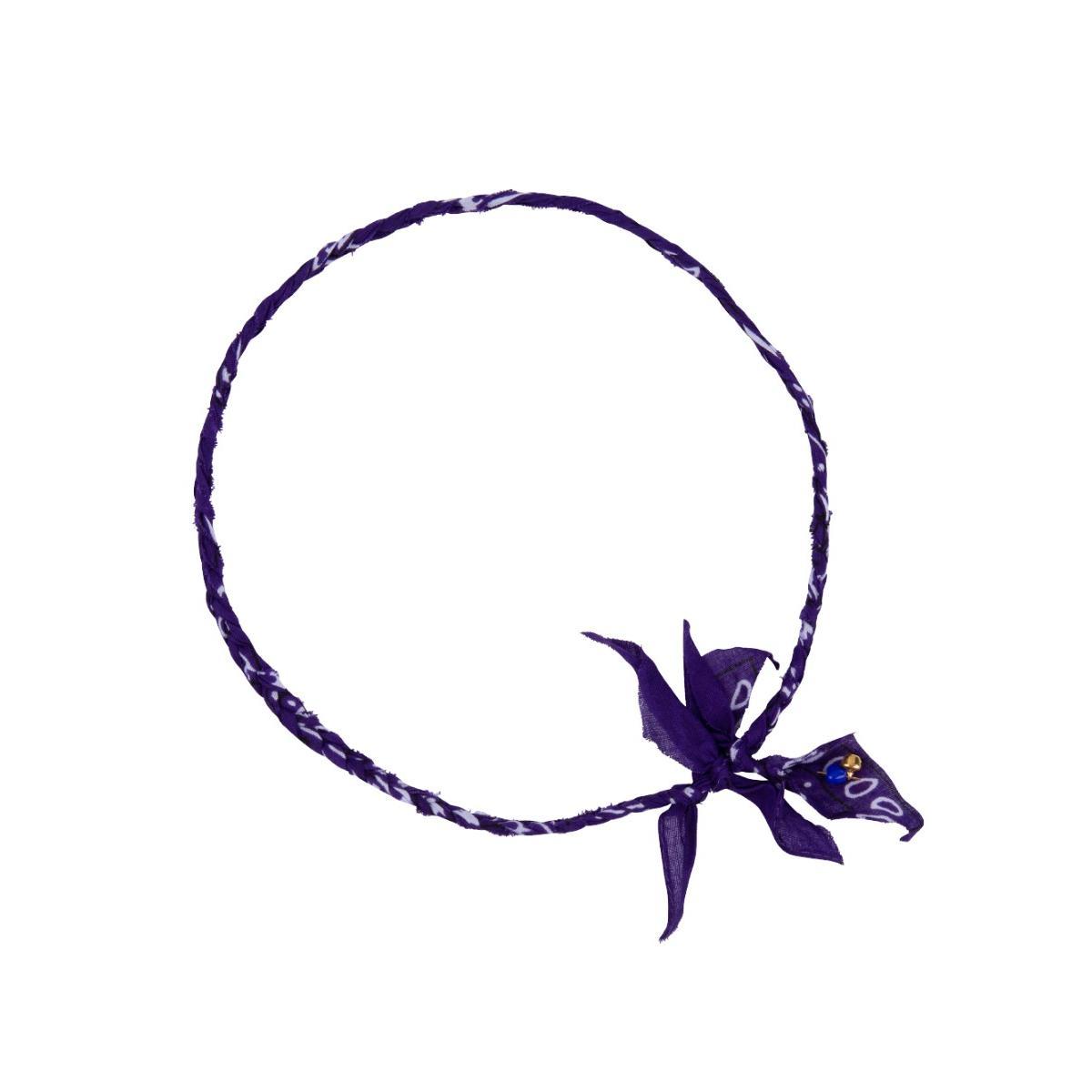 Love stories Bandana Necklace Purple