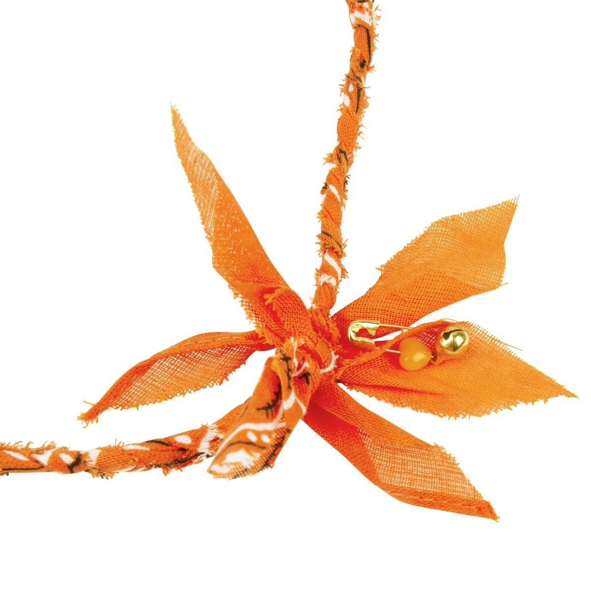 Love stories Bandana Necklace Orange
