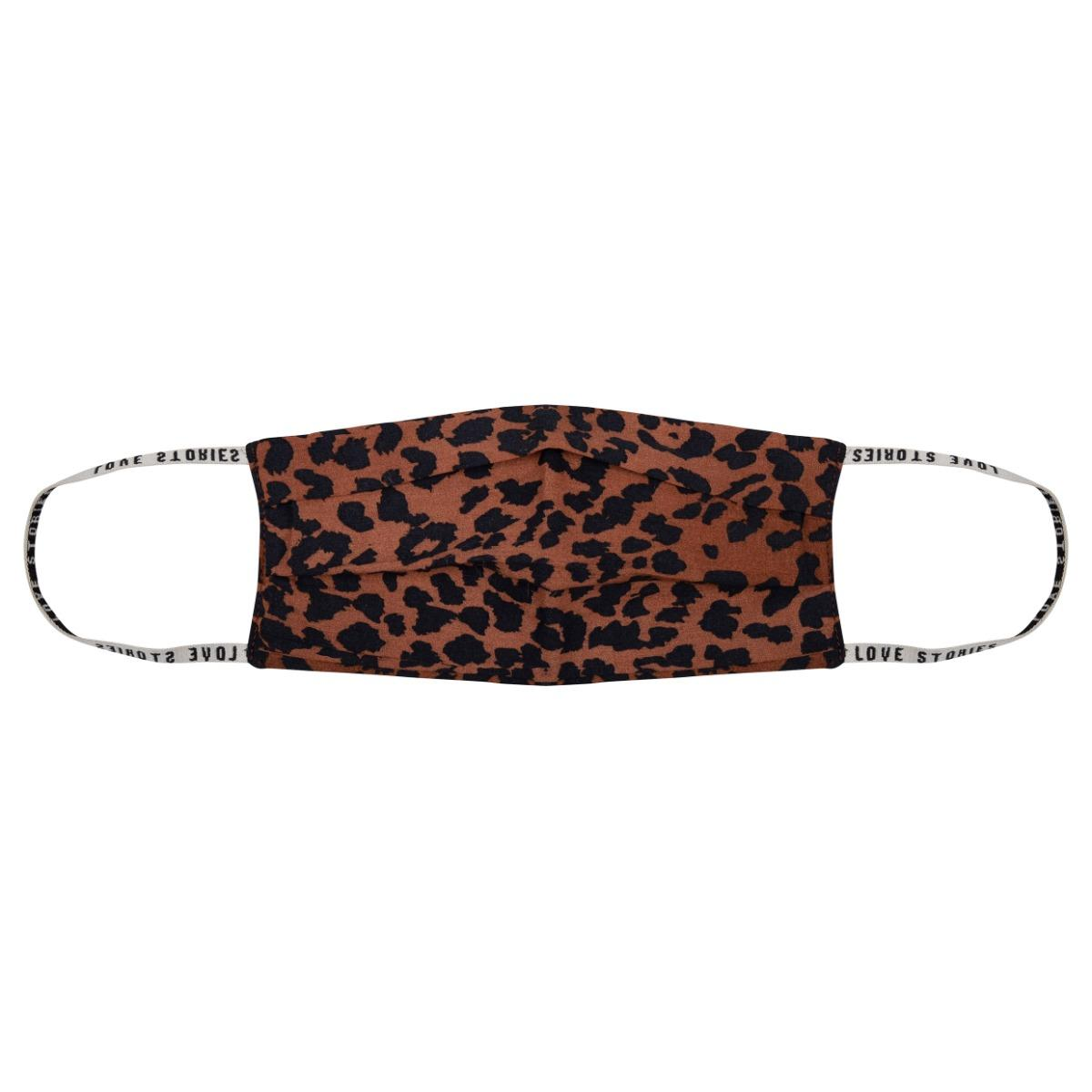 Love stories Leopard Face Mask