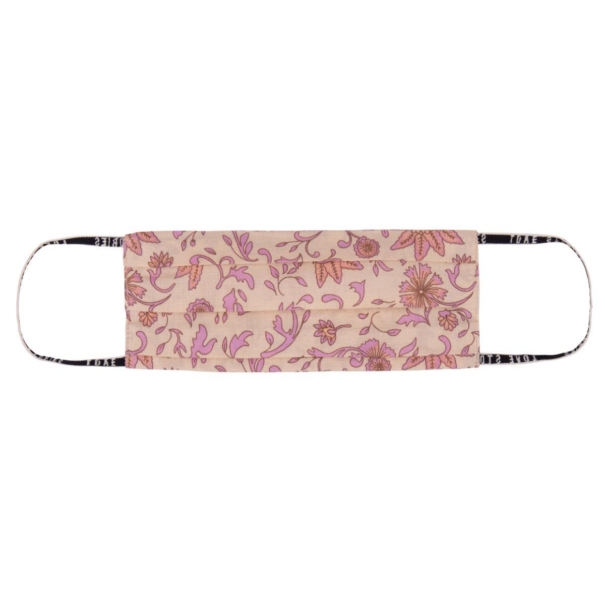 Love stories Cover Batik Floral Mauve
