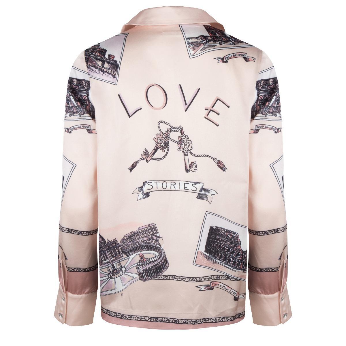 Love stories Camisa Lana