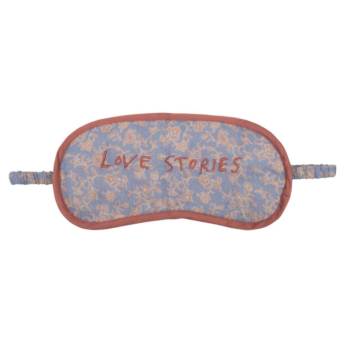 Love stories Eyemask & Carrier Bag