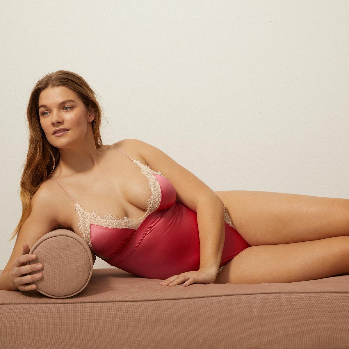 Love stories Doris Lace Bodysuit